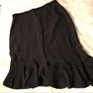 NWOT French Connection Assymetrical Skirt